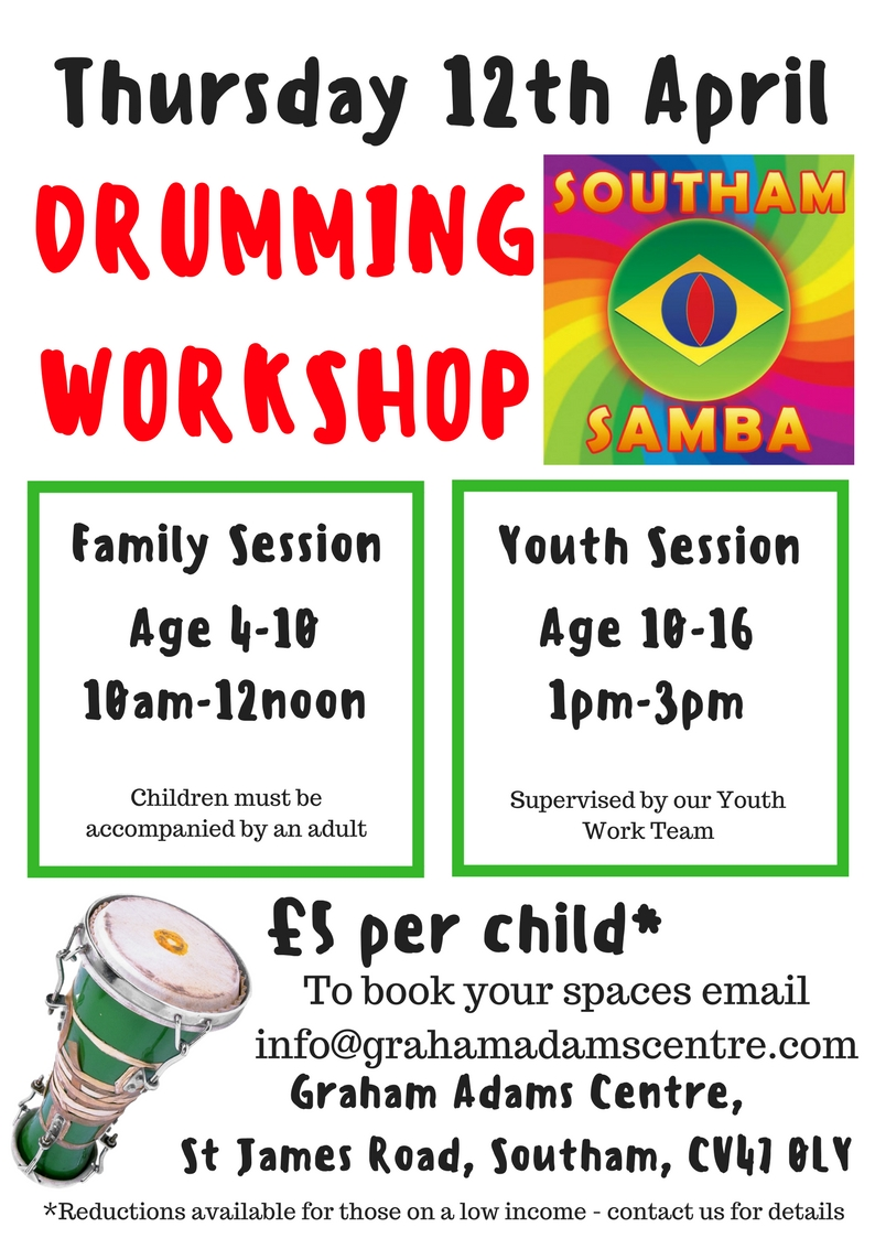 Copy of SAMBA DRUMMING WORKSHOPS