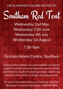 Southam Red Tent