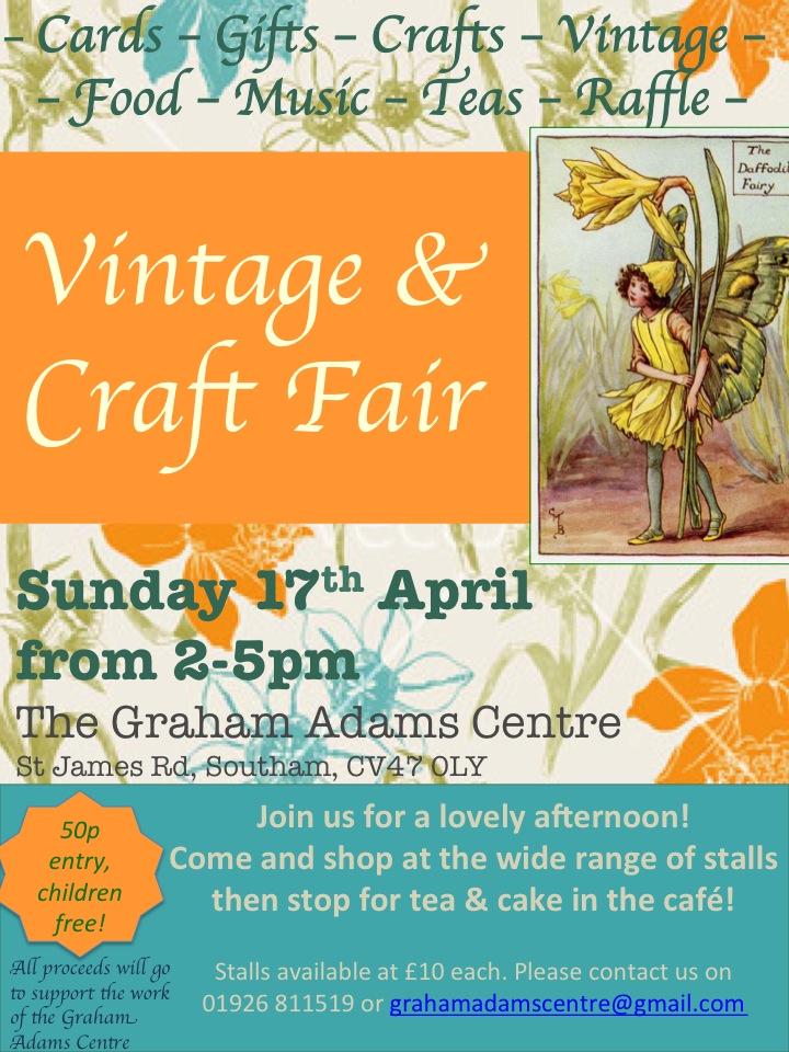 Vintage & Craft Fair 17th April 2016