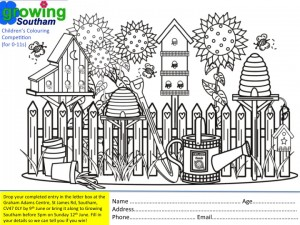 Growing Southam Colouring Competition